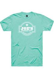 Joes Kansas City Bar-B-Que Mint Logo SS Tee