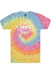 Joes Kansas City Bar-B-Que Tie-Dye Logo SS Tee