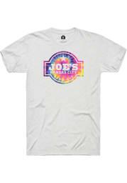 Joes Kansas City Bar-B-Que Logo White Fleck SS Tee