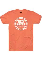 Pizza Shuttle Orange Logo SS Tee