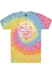 Pizza Shuttle Tie-Dye Logo SS Tee