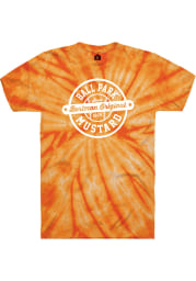 Bertman Mustard Orange Tie-Dye Prime Logo SS Tee
