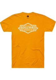 Boulevard Brewing Co. Heather Marmalade Prime Logo SS Tee