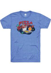 Rally Kansas Blue Galatic Short Sleeve Fashion T Shirt