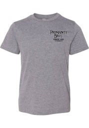 Primanti Bros. Youth Grey Bite Me Short Sleeve T-Shirt