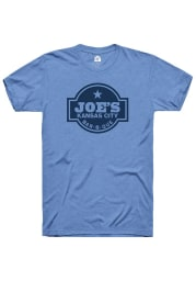 Rally Kansas City Light Blue Prime Logo Short Sleeve Fashion T Shirt