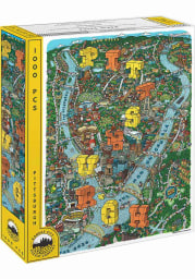 Pittsburgh Map 1000 Piece Puzzle