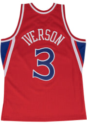 Allen Iverson Philadelphia 76ers Profile Throwback Jersey Big and Tall