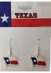 Texas State Flag Womens Earrings