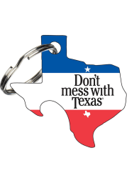 Texas Don't Mess with Texas Keychain