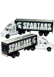 Michigan State Spartans WHITE SEMI TRUCK Car
