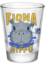 Cincinnati Fiona the Hippo 2 oz Shot Glass