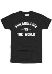 Rally Black Philadelphia VS The World Short Sleeve T Shirt