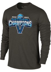 Villanova Wildcats Charcoal Big Logo Long Sleeve T Shirt