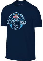 Villanova Wildcats Navy Blue Big East Champion Short Sleeve T Shirt