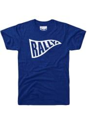Rally Blue Pennant Flag Short Sleeve T Shirt