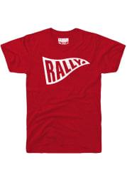 Rally Red Pennant Flag Short Sleeve T Shirt