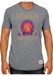 Original Retro Brand Storhs Grey Beer Logo Short Sleeve T Shirt