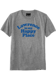 Rally Lawrence Grey Happy Place Short Sleeve T Shirt