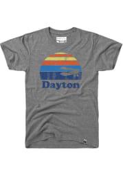 Dayton Grey Sunset Icon Short Sleeve T Shirt
