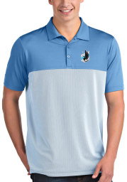 Antigua Minnesota United FC Mens Blue Venture Short Sleeve Polo