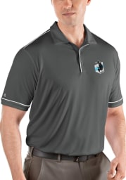 Antigua Minnesota United FC Mens Grey Salute Short Sleeve Polo