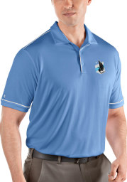 Antigua Minnesota United FC Mens Blue Salute Short Sleeve Polo