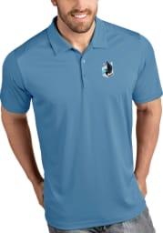 Antigua Minnesota United FC Mens Blue Tribute Short Sleeve Polo