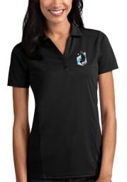 Antigua Minnesota United FC Womens Black Tribute Short Sleeve Polo Shirt
