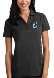Antigua Minnesota United FC Womens Grey Tribute Short Sleeve Polo Shirt