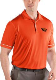 Antigua Oregon State Beavers Mens Orange Salute Short Sleeve Polo