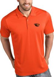 Antigua Oregon State Beavers Mens Orange Tribute Short Sleeve Polo