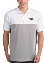 Antigua Baltimore Ravens Mens White Venture Short Sleeve Polo
