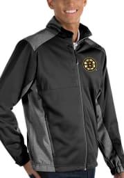 Antigua Boston Bruins Mens Black Revolve Light Weight Jacket