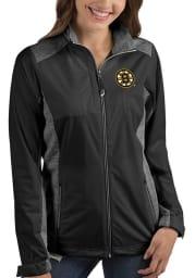 Antigua Boston Bruins Womens Black Revolve Light Weight Jacket