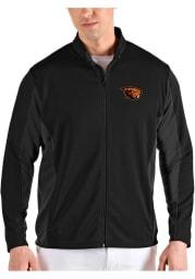 Antigua Oregon State Beavers Mens Black Passage Medium Weight Jacket