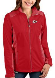 Antigua Kansas City Chiefs Womens Red Revolve Medium Weight Jacket