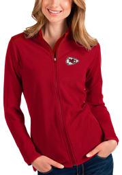 Antigua Kansas City Chiefs Womens Red Glacier Medium Weight Jacket