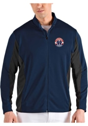 Antigua Washington Wizards Mens Navy Blue Passage Medium Weight Jacket