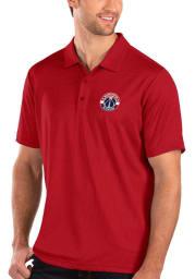 Antigua Washington Wizards Mens Red Balance Short Sleeve Polo