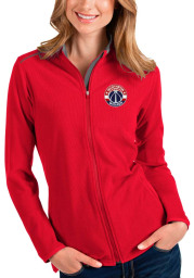 Antigua Washington Wizards Womens Red Glacier Light Weight Jacket