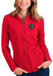 Antigua Toronto Raptors Womens Red Glacier Light Weight Jacket