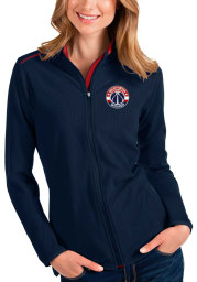 Antigua Washington Wizards Womens Navy Blue Glacier Light Weight Jacket