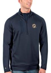Antigua St Louis Blues Mens Navy Blue Generation Long Sleeve 1/4 Zip Pullover