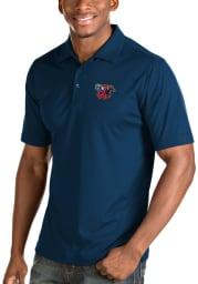 Antigua Wichita Wind Surge Mens Navy Blue Inspire Short Sleeve Polo