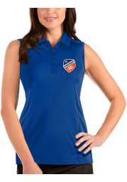 Antigua FC Cincinnati Womens Blue Tribute Sleeveless Tank Top