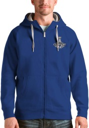Antigua Tampa Bay Lightning Mens Blue 2021 Stanley Cup Champions Victory Long Sleeve Full Zip Jacket