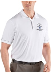 Antigua Tampa Bay Lightning Mens White 2021 Stanley Cup Champions Salute Short Sleeve Polo