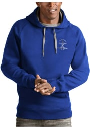 Antigua Tampa Bay Lightning Mens Blue 2021 Stanley Cup Champions Victory Long Sleeve Hoodie
