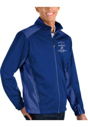 Antigua Tampa Bay Lightning Mens Blue 2021 Stanley Cup Champions Revolve Light Weight Jacket